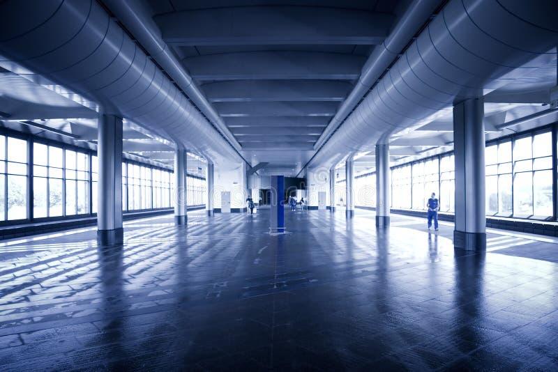 σύγχρονος σταθμός μετρό στοκ εικόνες με δικαίωμα ελεύθερης χρήσης