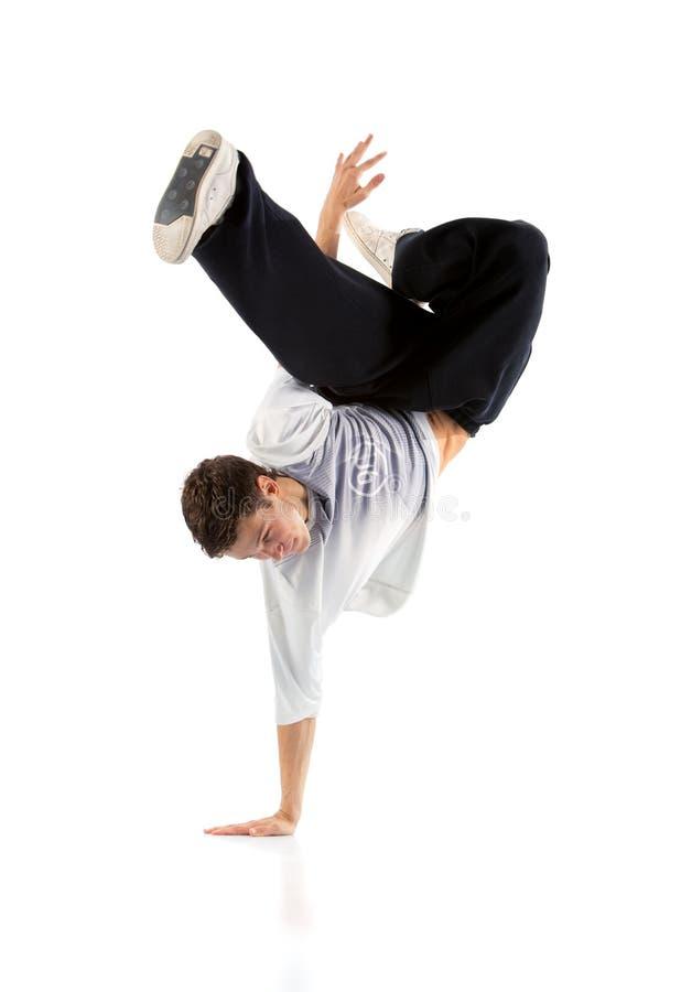 Σύγχρονος χορός νεαρών άνδρων στοκ φωτογραφίες