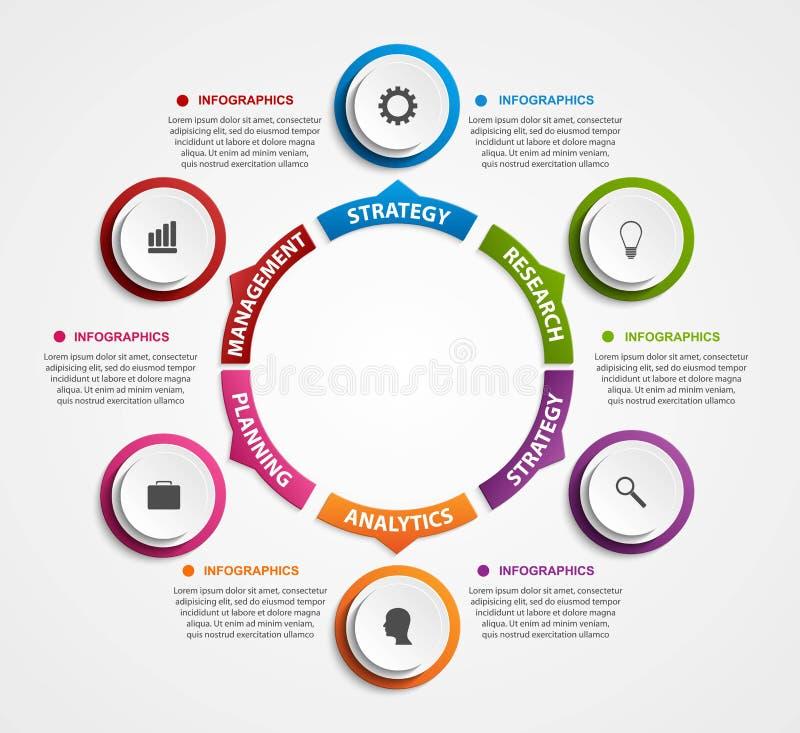 Download Σύγχρονο έμβλημα επιλογών Infographics Διανυσματική απεικόνιση - εικονογραφία από πίτα, επιχείρηση: 62702009