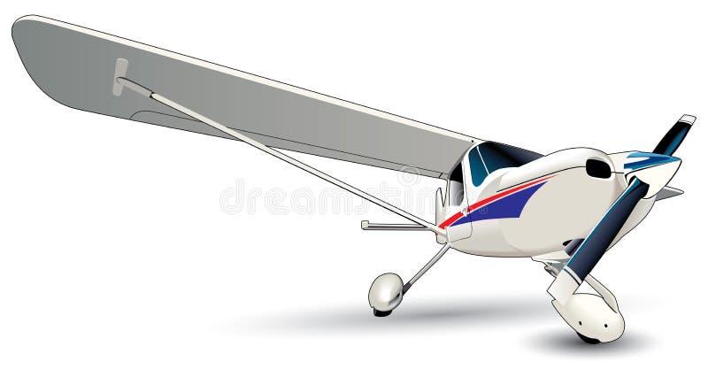 σύγχρονο αεροπλάνο ελεύθερη απεικόνιση δικαιώματος
