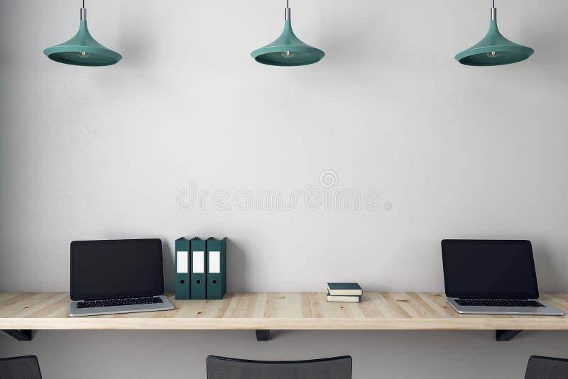 Σύγχρονο γραφείο γραφείων στοκ φωτογραφίες με δικαίωμα ελεύθερης χρήσης