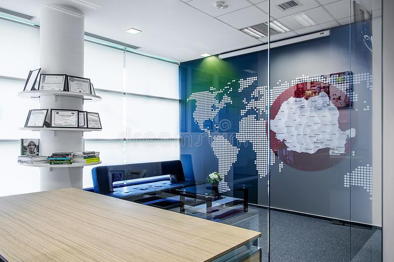 σύγχρονο γραφείο στοκ εικόνες με δικαίωμα ελεύθερης χρήσης