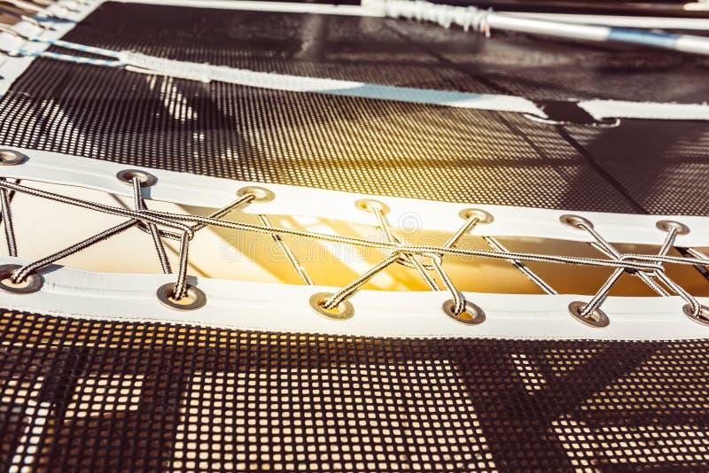 Σύγχρονο δίχτυ ασφαλείας γιοτ στοκ φωτογραφίες με δικαίωμα ελεύθερης χρήσης