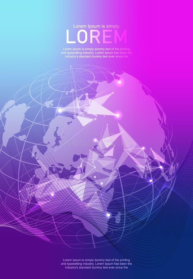 Σύγχρονο διανυσματικό πρότυπο για το φυλλάδιο φυλλάδιων, τη ετήσια έκθεση καταλόγων κάλυψης αναφορών ιπτάμενων περιοδικό ή Επιχεί διανυσματική απεικόνιση