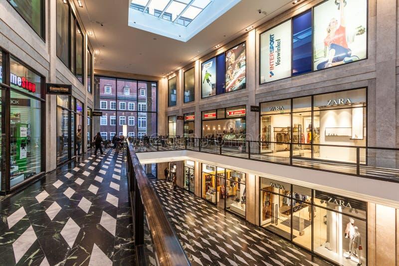 Σύγχρονο εμπορικό κέντρο Munster στοκ φωτογραφία με δικαίωμα ελεύθερης χρήσης