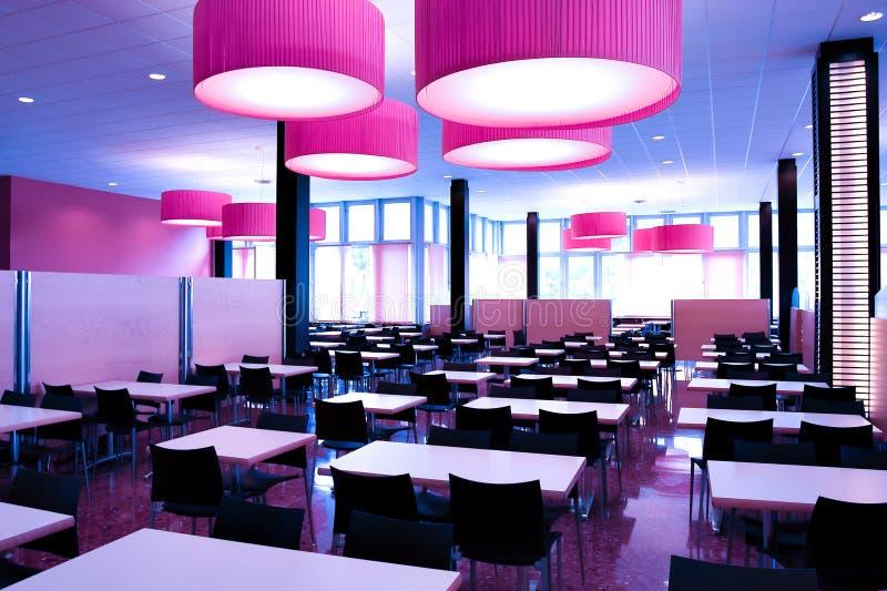 σύγχρονο εστιατόριο στοκ εικόνα