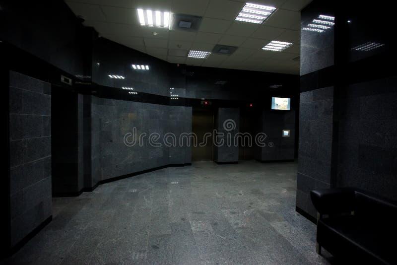 Σύγχρονο εσωτερικό σχέδιο της φωτογραφίας αιθουσών ξενοδοχείων στοκ φωτογραφίες με δικαίωμα ελεύθερης χρήσης