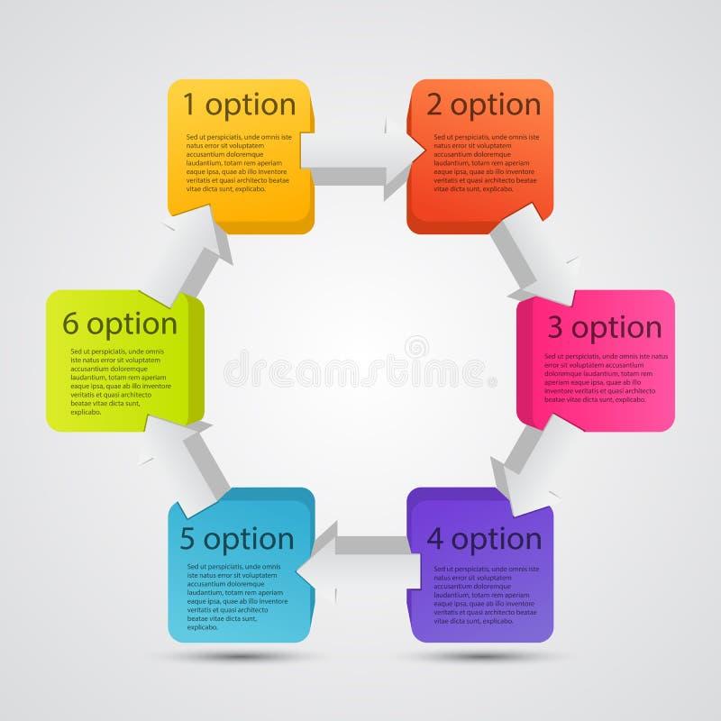 Σύγχρονο διανυσματικό πρότυπο για το επιχειρησιακό πρόγραμμά σας ελεύθερη απεικόνιση δικαιώματος