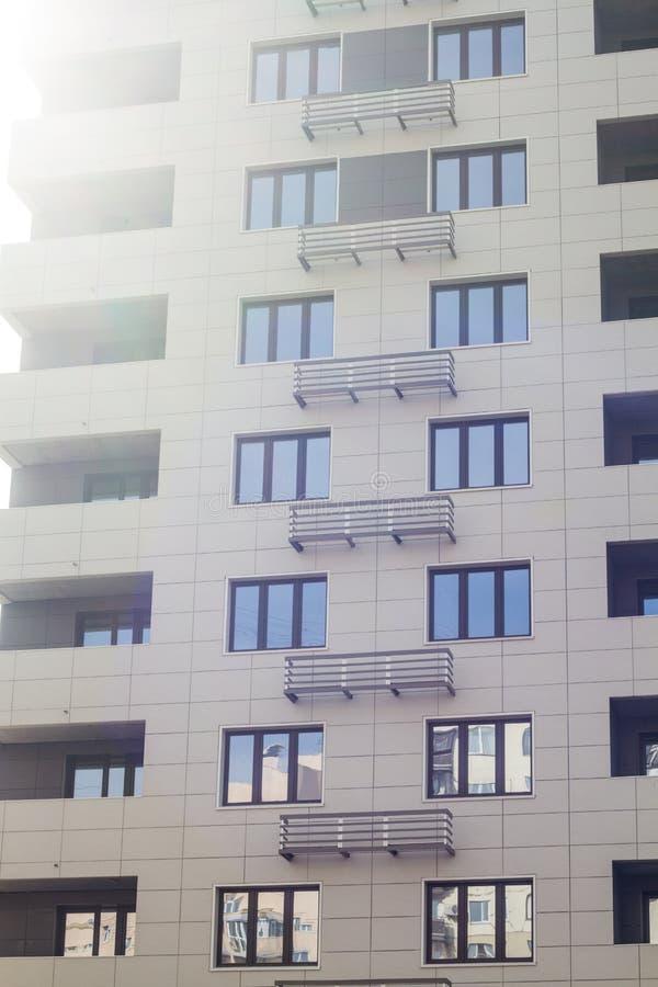 Σύγχρονο κατοικημένο κτήριο στοκ φωτογραφίες με δικαίωμα ελεύθερης χρήσης