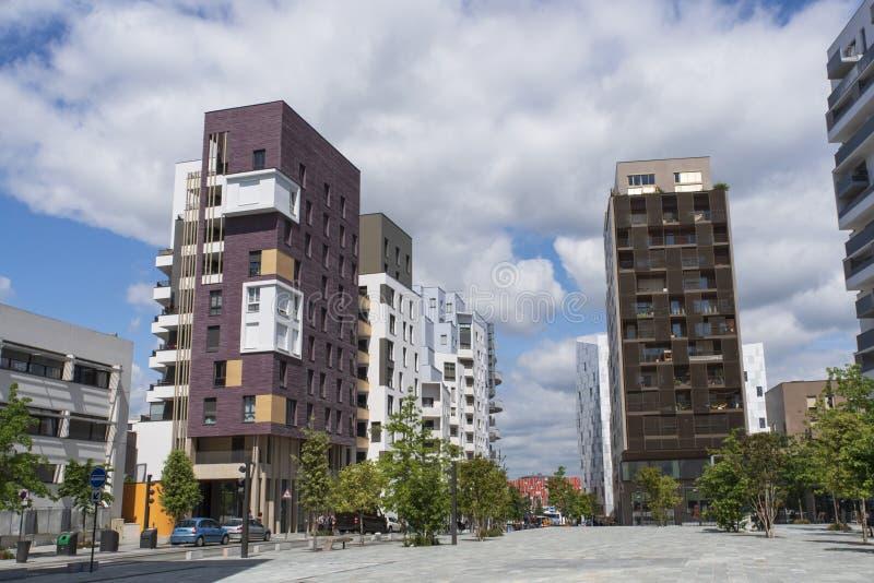 Σύγχρονο κτήριο στη Γαλλία στοκ φωτογραφία με δικαίωμα ελεύθερης χρήσης