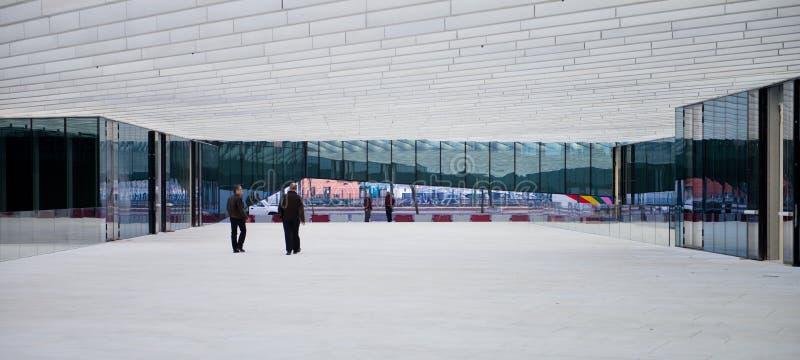 Σύγχρονο κτήριο - Energias de Πορτογαλία στοκ εικόνες