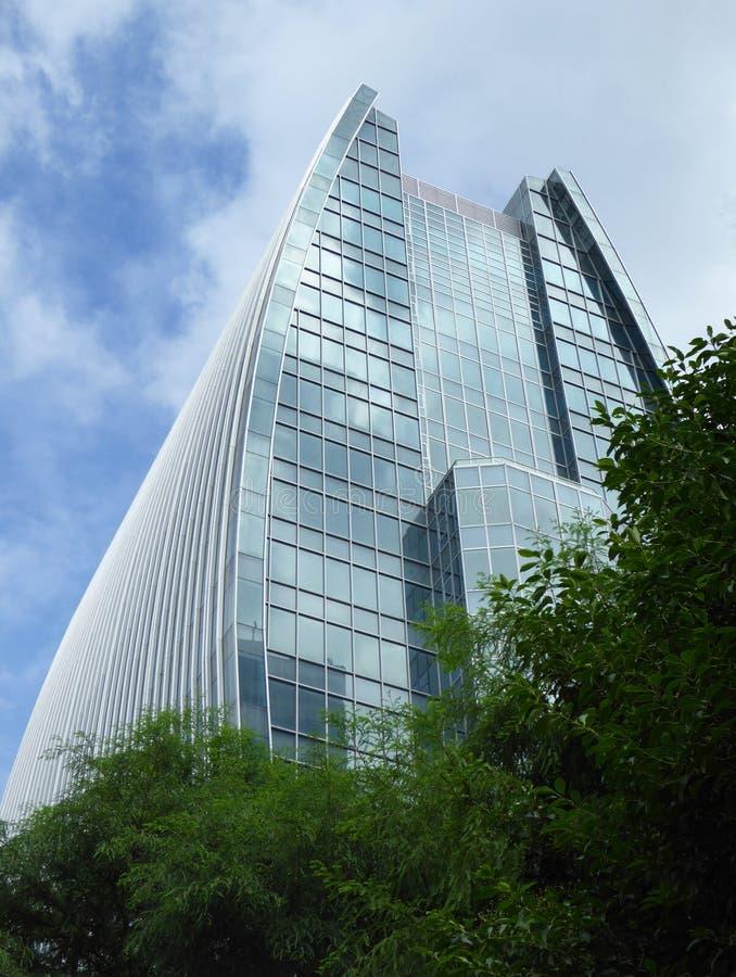 Σύγχρονο κτίριο γραφείων Σαγκάη στοκ εικόνες με δικαίωμα ελεύθερης χρήσης