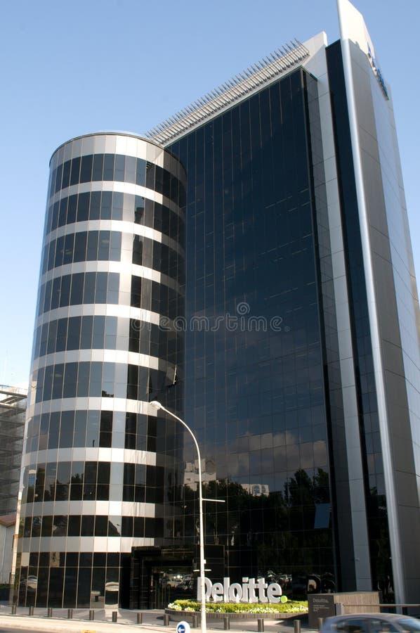 Σύγχρονο κτίριο γραφείων Deloitte στη Λευκωσία - τη Κύπρο στοκ εικόνες με δικαίωμα ελεύθερης χρήσης