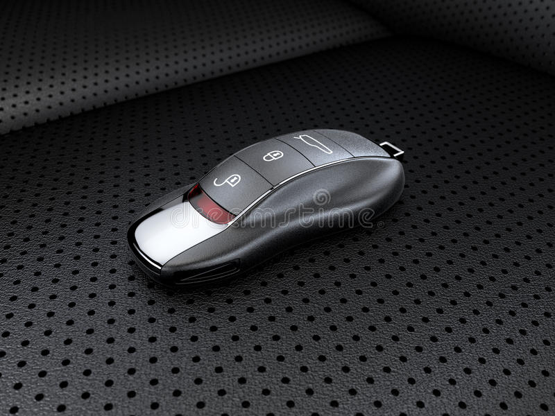 Σύγχρονο κλειδί σπορ αυτοκίνητο διανυσματική απεικόνιση