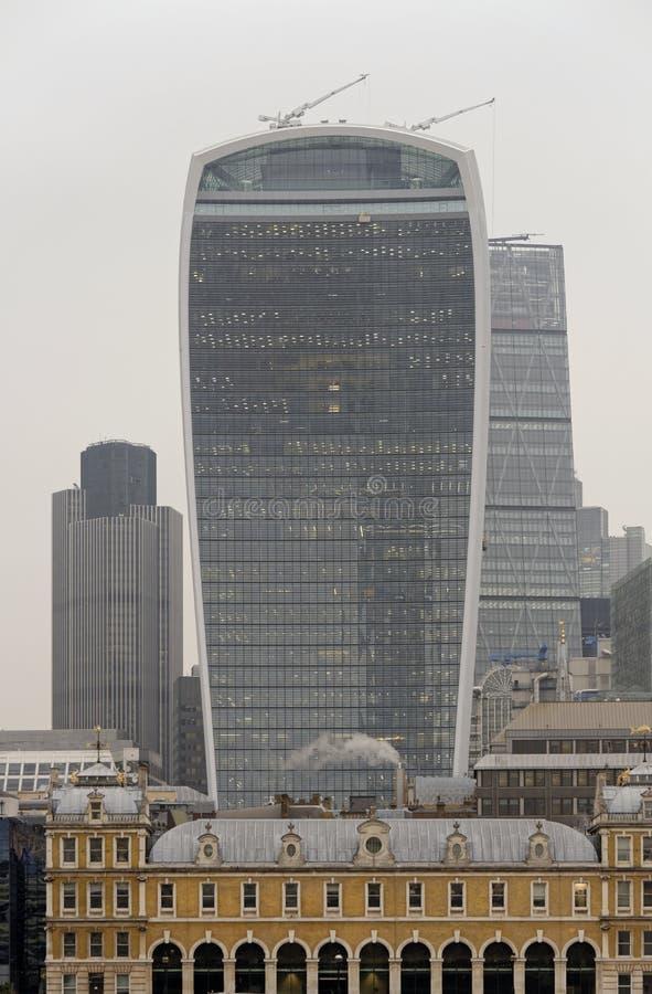Σύγχρονο Λονδίνο στοκ εικόνες