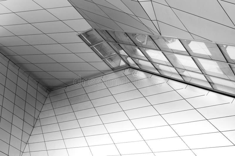 Σύγχρονο μουσείο στη Λυών στοκ φωτογραφία με δικαίωμα ελεύθερης χρήσης