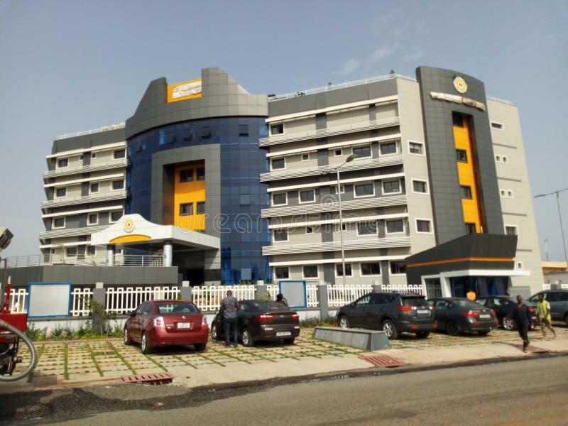 Σύγχρονο νοσοκομείο της Γκάνας στοκ εικόνα
