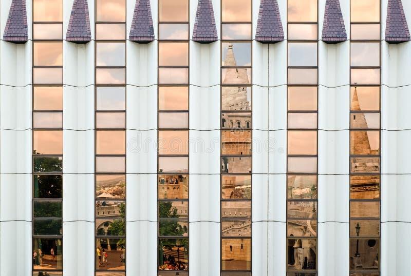 Σύγχρονο ξενοδοχείο Hilton στη Βουδαπέστη στοκ φωτογραφία
