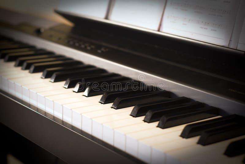 σύγχρονο πιάνο στοκ εικόνες με δικαίωμα ελεύθερης χρήσης
