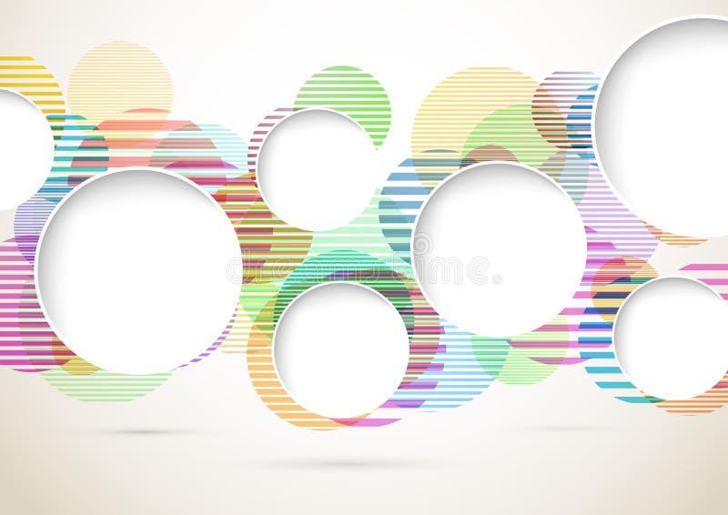Σύγχρονο πρότυπο υποβάθρου διαφήμισης διανυσματική απεικόνιση