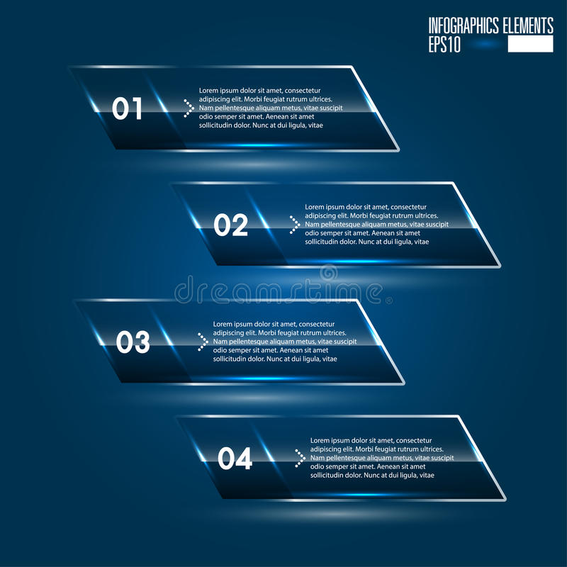 Σύγχρονο πρότυπο infographics ελεύθερη απεικόνιση δικαιώματος
