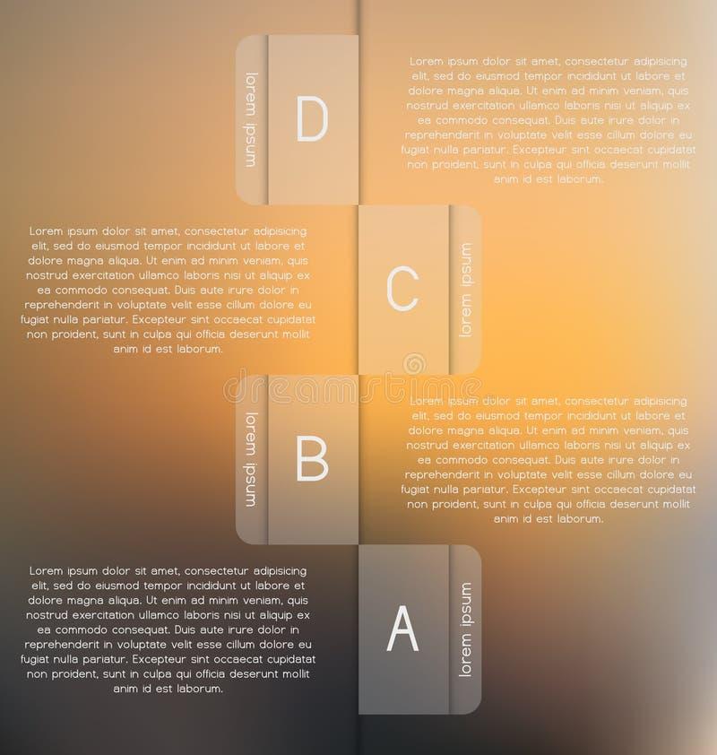Σύγχρονο, σαφές πρότυπο Μπορέστε να χρησιμοποιηθείτε για το infographics, ιστοχώροι ε απεικόνιση αποθεμάτων