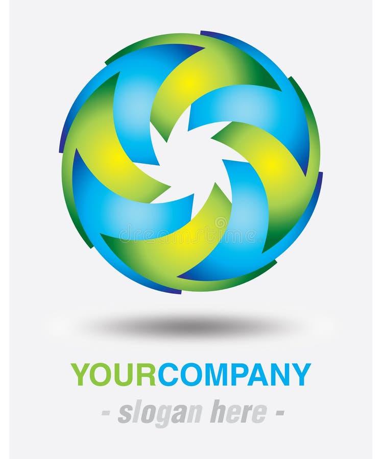 Σύγχρονο σχέδιο λογότυπων απεικόνιση αποθεμάτων