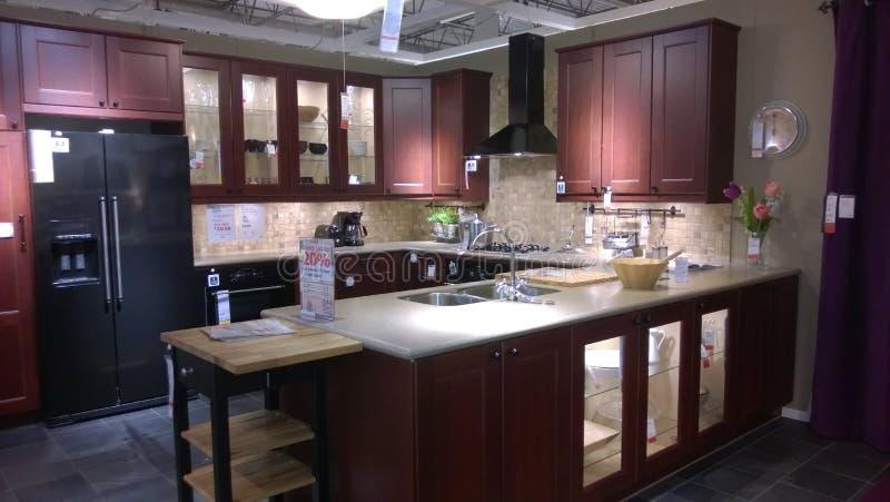 Σύγχρονο σχέδιο κουζινών πολυτέλειας στοκ φωτογραφίες με δικαίωμα ελεύθερης χρήσης