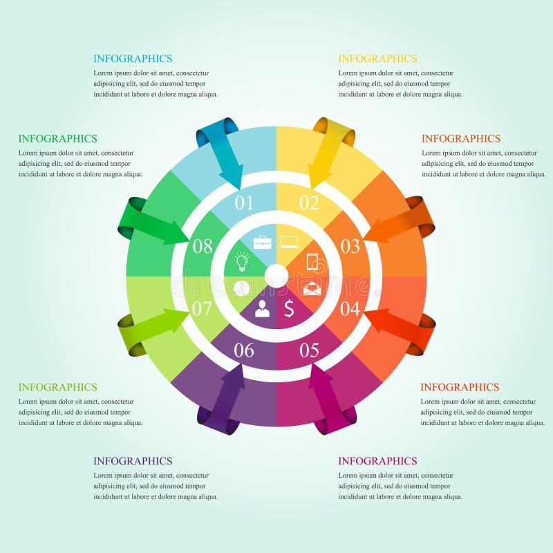 Σύγχρονο σχέδιο infographics απεικόνιση αποθεμάτων