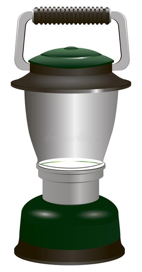 Σύγχρονο φανάρι μπαταριών απεικόνιση αποθεμάτων
