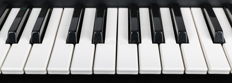 Σύγχρονο ψηφιακό πιάνο στοκ εικόνες