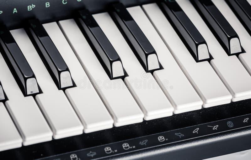 Σύγχρονο ψηφιακό πιάνο στοκ εικόνες με δικαίωμα ελεύθερης χρήσης
