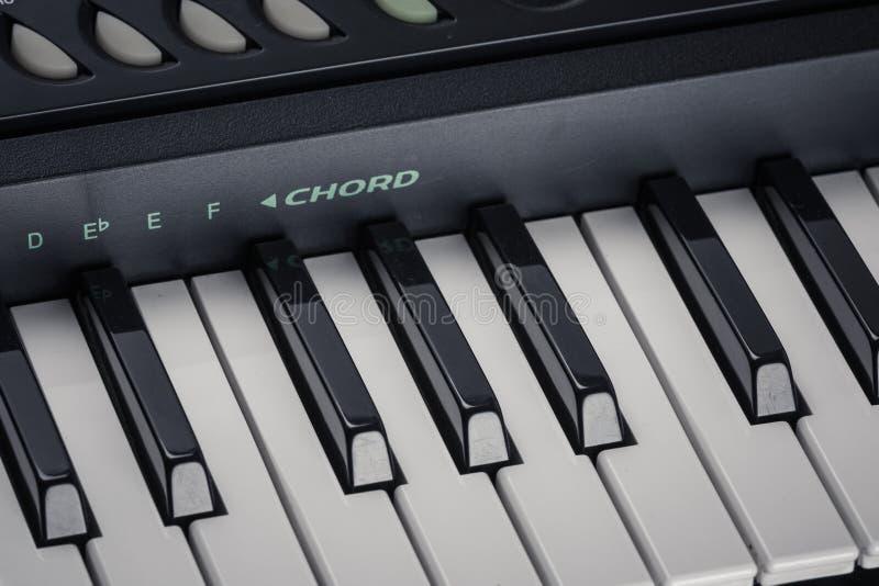 Σύγχρονο ψηφιακό πιάνο στοκ εικόνα με δικαίωμα ελεύθερης χρήσης