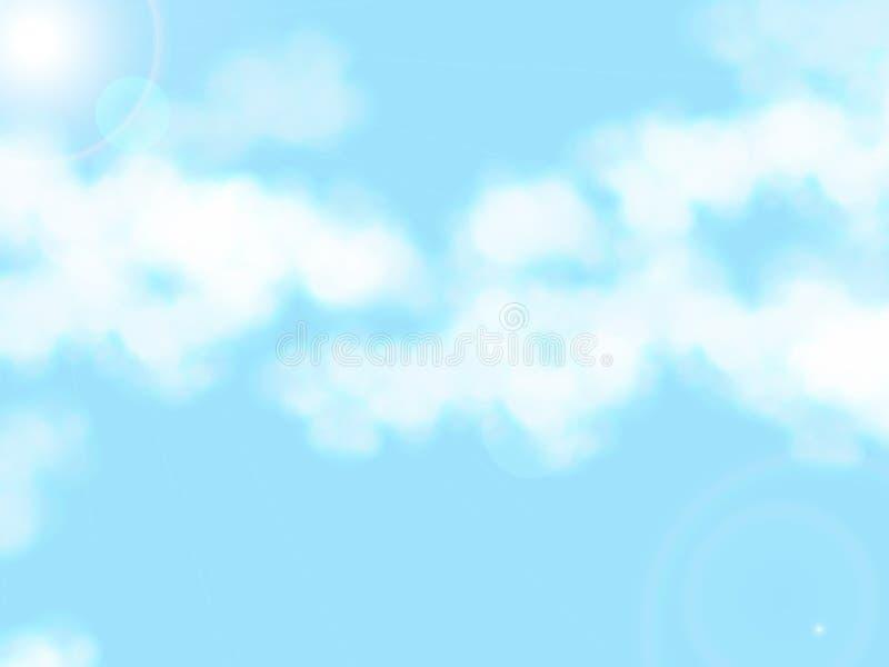 Σύγχρονο ύφος υποβάθρου ουρανού απεικόνιση αποθεμάτων