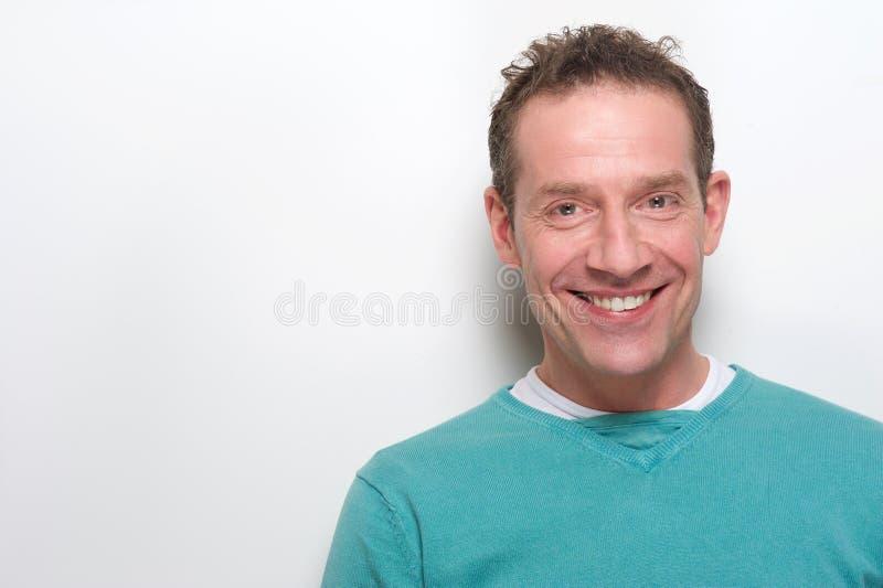 Σύγχρονο ώριμο χαμόγελο ατόμων στοκ φωτογραφία