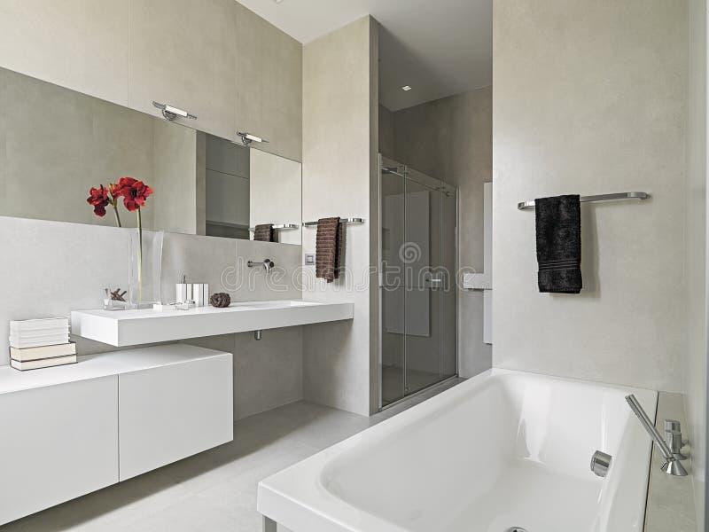 Σύγχρονο bahtroom στοκ εικόνες με δικαίωμα ελεύθερης χρήσης
