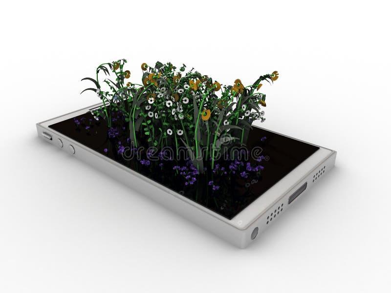 Σύγχρονο smartphone διανυσματική απεικόνιση