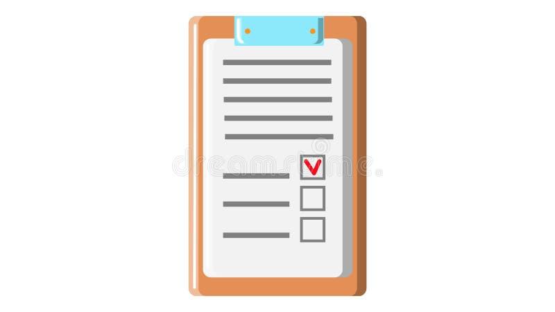 Σύμβαση αίτησης υποψηφιότητας εγγράφων εγγράφου με τη σφραγίδα και αφηρημένο κείμενο στην ξύλινη καφετιά ταμπλέτα χαρτονιού για τ απεικόνιση αποθεμάτων