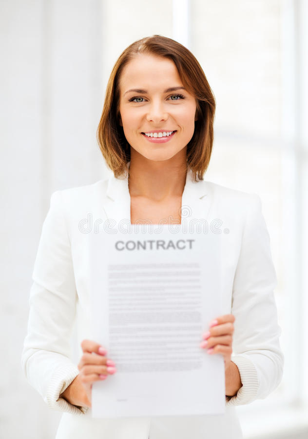 Σύμβαση εκμετάλλευσης επιχειρηματιών στοκ φωτογραφία με δικαίωμα ελεύθερης χρήσης