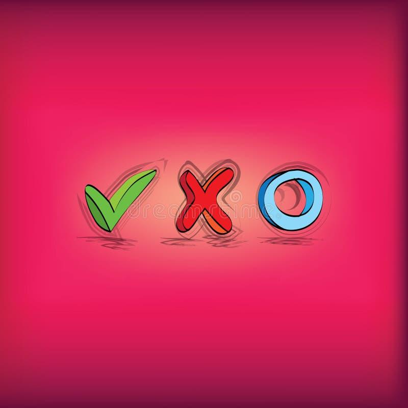 Σύμβολα για τον πίνακα ελέγχου απεικόνιση αποθεμάτων