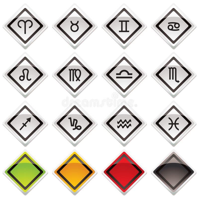 σύμβολα εικονιδίων ωρο&sigm απεικόνιση αποθεμάτων