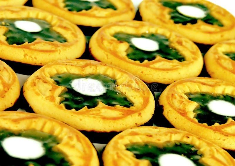 σύμβολα μπισκότων τριφυλ&la στοκ εικόνες