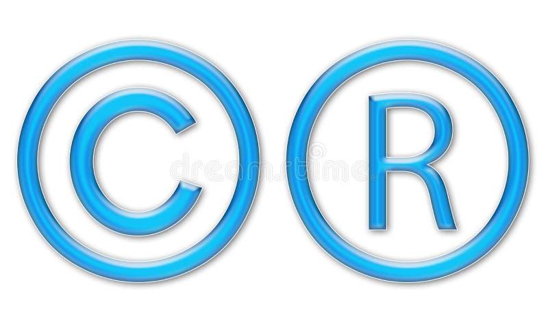 σύμβολα πνευματικών δικα στοκ φωτογραφία με δικαίωμα ελεύθερης χρήσης