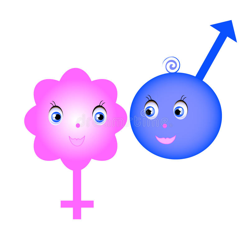 σύμβολα φύλων απεικόνιση αποθεμάτων