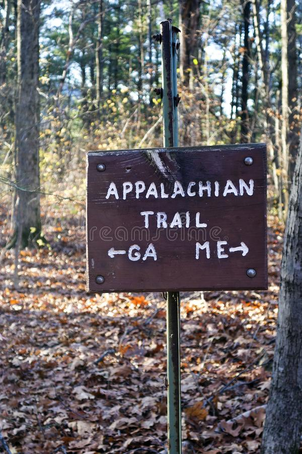 Σύμβολο ίχνους Appalachian στοκ φωτογραφίες με δικαίωμα ελεύθερης χρήσης