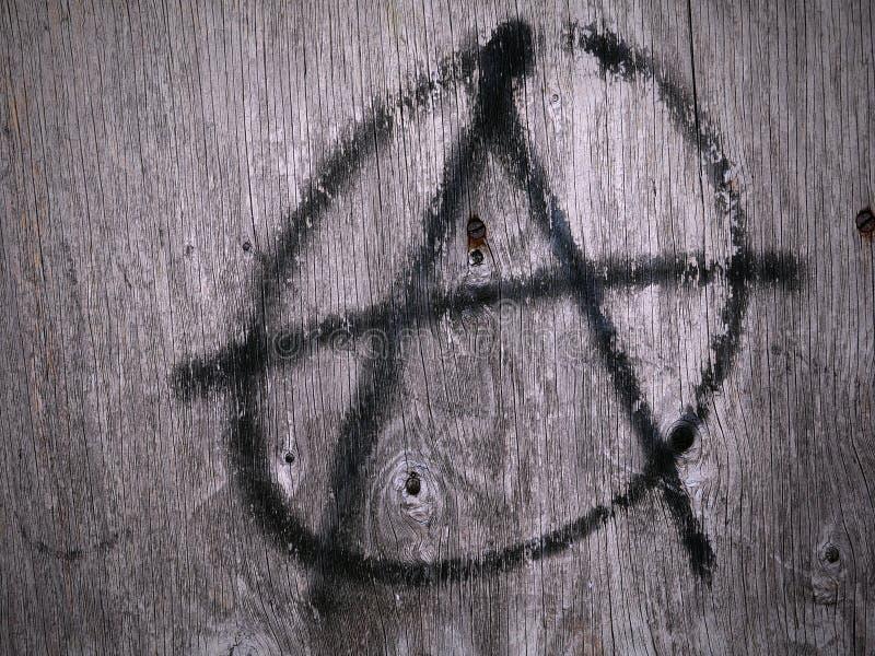 Σύμβολο αναρχίας στοκ εικόνες με δικαίωμα ελεύθερης χρήσης