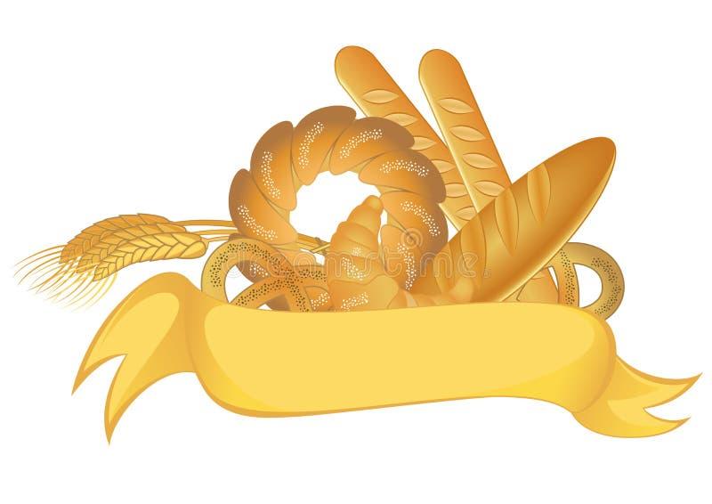 Σύμβολο αρτοποιείων απεικόνιση αποθεμάτων