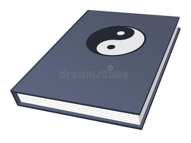 σύμβολο βιβλίων yang ying απεικόνιση αποθεμάτων