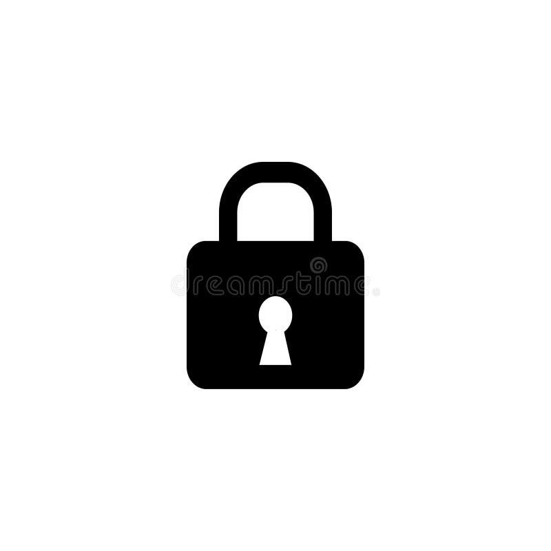 Σύμβολο εικονιδίων κλειδαριών απεικόνιση αποθεμάτων