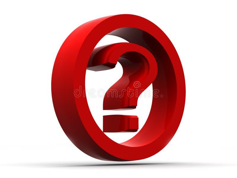 σύμβολο ερώτησης διανυσματική απεικόνιση